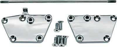 HardDrive D35-0173 Chrome Forward Control Kit with Rubber Pegs And Brake Pedal