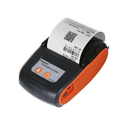 58mm Wireless Bluetooth Portable Thermal Printer Receipt Machine Rechargeable
