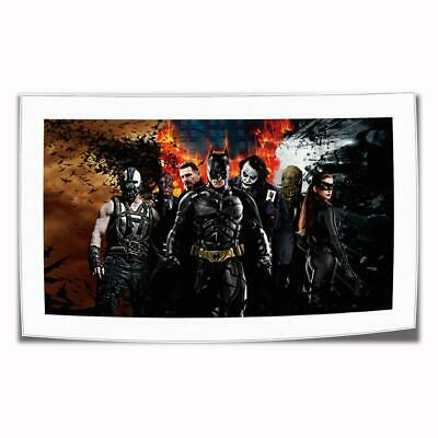 """16""""x26""""DC Batman Paintings HD Print on Canvas Home Decor Wall Art Pictures Poste"""