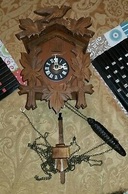 Black Forest Cuckoo Clock Small Coo Coo Clock Germany