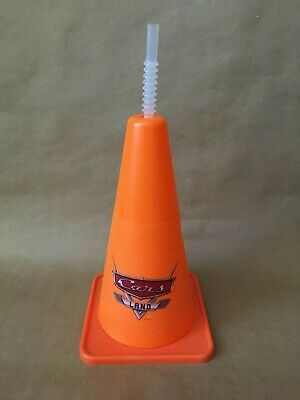 Disney California Adventure Cars Land Cozy Cone Sipper Mug Cup Disneyland Parks