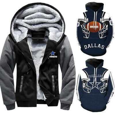 US Dallas Cowboys Hoodie Sweatshirt Football training Pullover Jacket Coat M-5XL