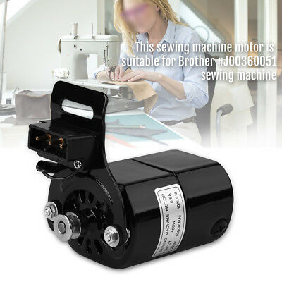 For Brother Home Sewing Machine Motor 7000RPM K-bracket Accessories 100W Premium