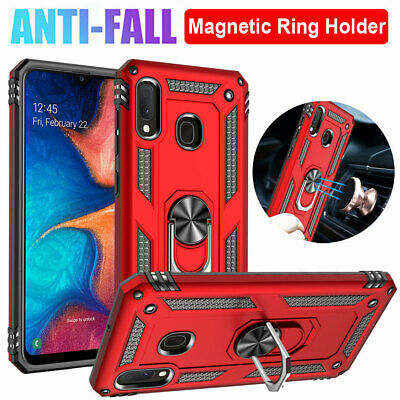 Shockproof Armor Case For Samsung Galaxy A50 A20 A70 A40 A10e  Ring Stand Cover