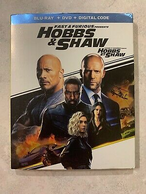 Hobbs & Shaw Fast And Furious Blu-Ray DVD Slipcover Canada Bilingual NO DC LOOK