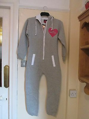 Onesey Fleece New-Grey All In New Printed With One Direction In Pink Size 11/12