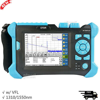 Optical Time Domain Reflectometer OTDR 1310/1550nm with 650nm VFL