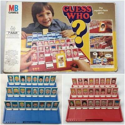 Vintage GUESS WHO? Board Game, 1979 Edition, MB Games, Boxed, Retro, Classic