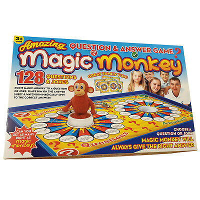 New Monkey Magic Board Game For Young Kids Family Fun 3 Year Old Childrens Gift