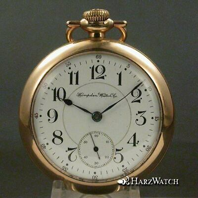 Hampden RAILWAY SPECIAL - 18 Size  Antique Pocket Watch 55 mm ca. 1899