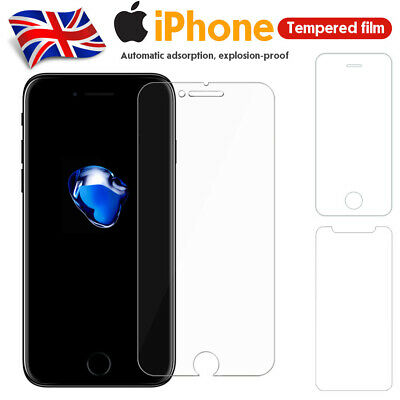 For Apple iPhone 11,11 Pro Max XR XS X 8 Screen Protector 3 PACK Tempered Glass
