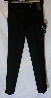 NEW! Boys Next Black Adjustable Waist Slim Fit School Trousers Age 11 Years