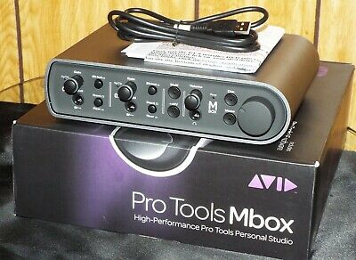 "Avid MBox 3 USB Audio Interface ""New Never Used""  No  software"