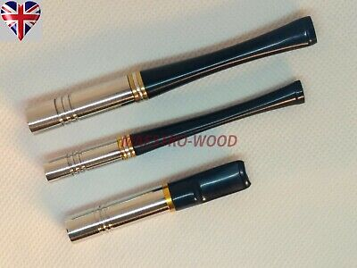 Metal cigarette holder - STANDARD or SUPER SLIM, mouthpiece smoking accessories