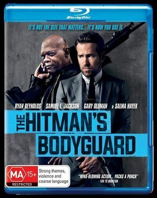 The Hitmans Bodyguard Blu-Ray New & Sealed, Free Post