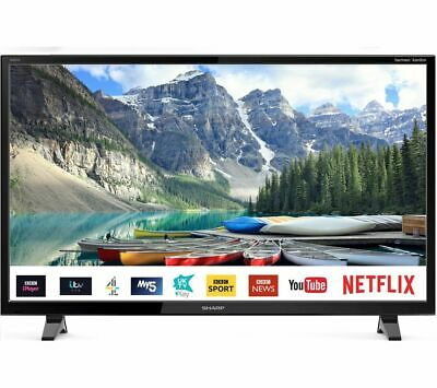 "SHARP 1T-C32BC0KO2FB 32"" Smart HD Ready LED TV - Currys"