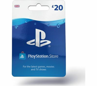 SONY PlayStation Store £20 Wallet Top-Up - Currys