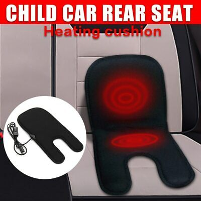 Car Baby Children Carbon Fiber Heated Seat Cover Heating Cushion Warmer Pad