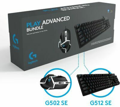 LOGITECH G Play Advanced Gaming Keyboard & Mouse Set - Currys