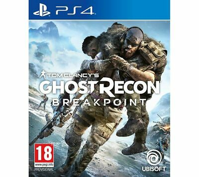 PS4 Tom Clancy's Ghost Recon Breakpoint - Currys