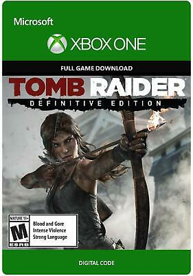 Xbox One Tomb Raider Definitive Edition Full Game Digital Download Code XO