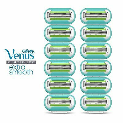 Gillette Venus EXTRA SMOOTH Women's 5 Blade Razor Cartridge GENUINE 2 4 6 or 12