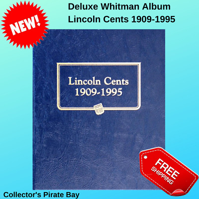 Whitman Album Lincoln Cents 1909-1995 US Mint Uncertified Collection Coin Holder