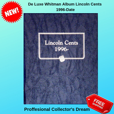 Whitman Album Lincoln Cents 1996-Date US Mint Uncertified Collection Coin Holder