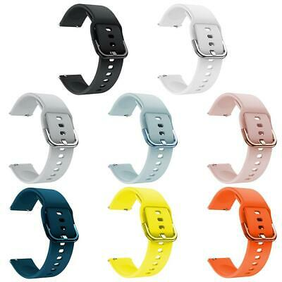 Wristband Replacement Silicone Strap for Samsung Galaxy Watch Active 20mm #Z