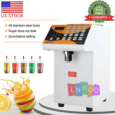 110V 280W Fructose Dispenser Bubble Tea Equipment Fructose Quantitative Machine