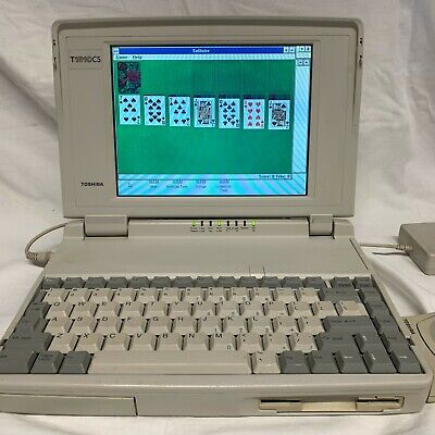 VINTAGE Toshiba T1910CS/200 SYSTEM UNIT Model PA1114EA with MOUSE - WORKS GREAT