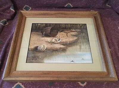 "Charlotte Mcmurtry ""The Antiguo Ones"" Acuarela Pintura Noted NM Artista"