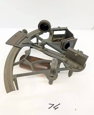 Antique sextant, Heaths Patent 1897