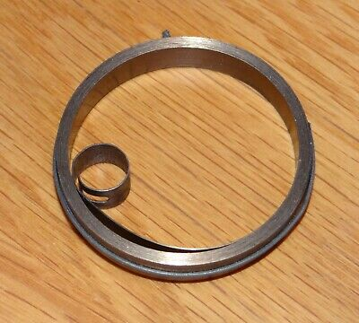 CLOCK MAINSPRING - LOOP END - BRAND NEW - size 8.00mm x 0.30mm x 700mm