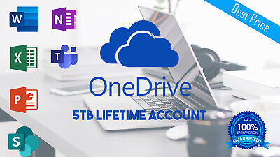 OneDrive 5TB Lifetime Account - Custom Login | Instant Delivery | Best Price
