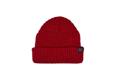 Joules Mens Bamburgh Hat Knitted Hat Deep Red