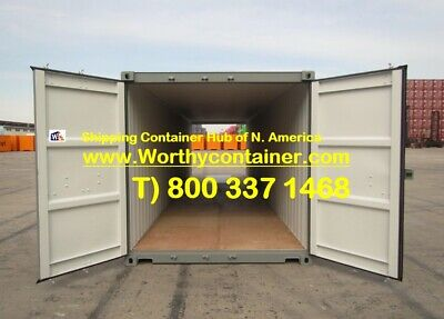 Double Door(DD) - 40' New / One Trip Shipping Container in Miami, FL