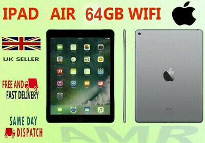 Apple iPad Air 2  64GB WiFi 9.7'' Display in Space Grey Color + Good condition
