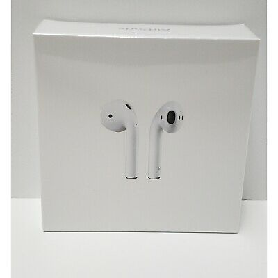 Genuine Apple AirPods 2nd Generation with WL Charging Case - White