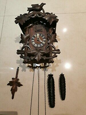 Authentic vintage Swiss cuckoo clock
