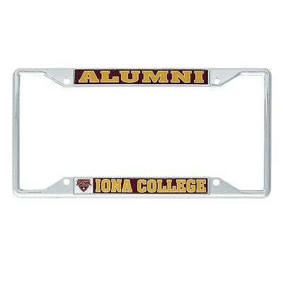 Emory University Alumni Chrome License Plate Frame