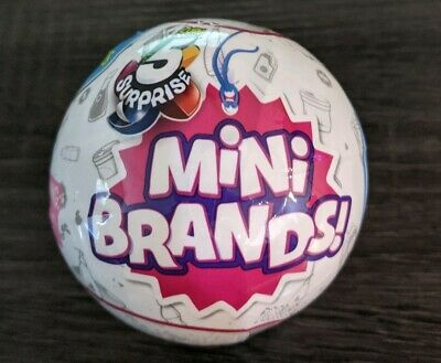 NEW 5 Surprise Mini Brands - 1 BALL - Zuru   FAST SHIP!