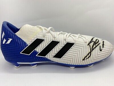 Lionel Messi signed Football Boot Barcelona Fc #88