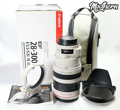 Canon EF 28-300mm F/3.5-5.6 L IS USM Lens - Boxed