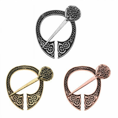 Pennanular Celtic Brooch Pin Viking Shawl Pin Decoration Costume Clasp Jewelry