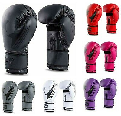 Boxing Gloves Training Sparring Punch Bag Kickboxing Fighting Cage Muay Thai