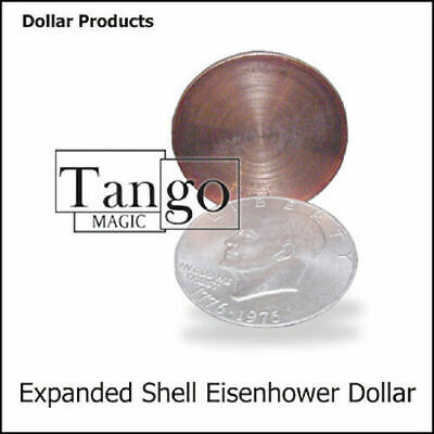 Expanded Eisenhower Dollar Shell (w/online instructions) (D0009) by Tango Magic