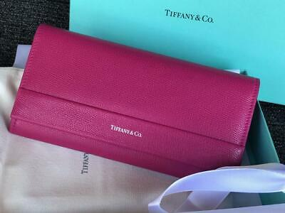 Tiffany & Co.  Leather Wallet Pink New w/ Box.