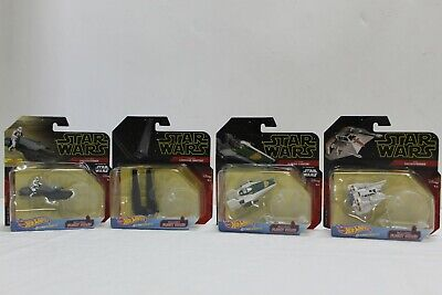 Hot Wheels Star Wars Starships command shuttle 1:64 FlightStand lot of 4