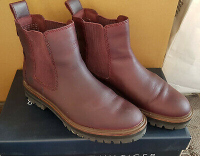 Timberland Chelsea Boots Stiefelette Gr. 37 Weinrot